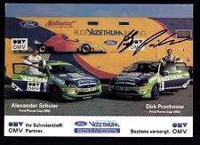 Dirk Prochnow AUTOGRAFO MAPPA ORIGINALE FIRMATO Motorsport + G 15920