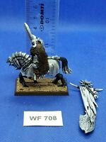 Warhammer Fantasy - Chaos Knight Standard Bearer Well Painted - Metal WF708