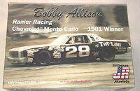 Bobby Allison #28 Chevy Monte Carlo Stock Car 1:25 model racecar kit new