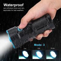 Portable Super Bright Outdoor Waterproof LED Flashlight Torch Light Bulb Lamp
