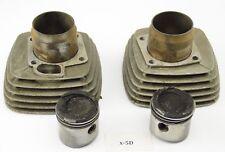 Moto Morini 350 3 1/2 - Cylinder + piston