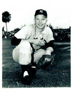 1952  MICKEY MANTLE NEW YORK YANKEES   8X10 PHOTO  BASEBALL HOF