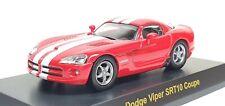 1/64 Kyosho DODGE VIPER SRT-10 COUPE RED diecast car model