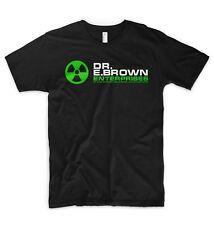 Dr. Emmett Doc Brown Enterprises T Shirt Logo Back To The Future Marty McFly