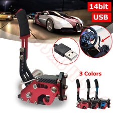 14Bit PC Wins USB Handbrake SIM for Racing Games G25/27/29 T500 FANATECOSW DIRT