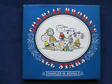 CHARLIE BROWN'S ALL-STARS by CHARLES M SCHULZ 1st Ed. PEANUTS BASEBALL CARTOONS