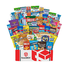 Care Package Snacks for College Students, Finals, Office, Father's Day, Deployme