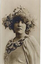 "PHOTO CP VINTAGE : SARAH BERNHARDT ""PRINCESSE LOINTAINE"" ROSTAND 1895"