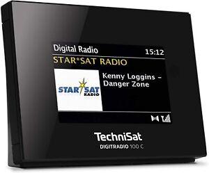 TechniSat DIGITRADIO 100 C DAB+/UKW-Empfangsteil mit Bluetooth u. Farbdisplay