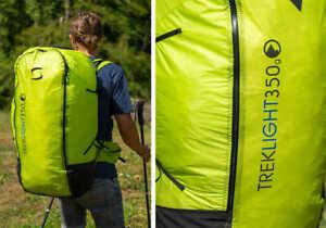 Supair Trek Light 350g Backpack, Paragliding Bag, Lightweight, And Ergonomic