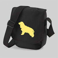 Cocker Spaniel Bag Dog Walkers Bag Shoulder Bags Colour Choice Birthday Gift