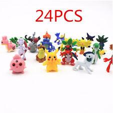 24pcs Wholesale Lots Cute Pokemon Mini Random Pearl Action Figures Kids Toys New