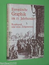 Europäische Graphik im 17.Jahrhundert Rembrandt und Zeitgenossen Rouir Geb. (2)