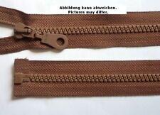 Salmi  Reißverschluss mit  Dekorzacken 75 cm braun