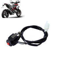 """7/8"""" Kill Stop Handlebar Switch Horn Button For Motorcycle Bike Quad  CASL"""