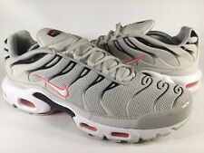 Nike Air Max Plus Tn Light Bone Hot Punch Black White Size 13 Rare 852630-030