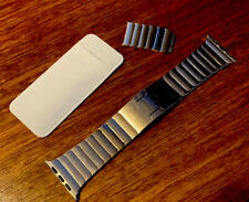 Apple Watch 42mm 44mm Stainless Steel Link Bracelet Band Only - Used OEM