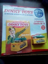 """DINKY TOYS LA LEGGENDARIA CITROEN DS 19 SCALA 1/43 - DE AGOSTINI 1 NUOVO """"E"""""""