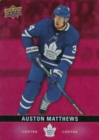 AUSTON MATTHEWS NO:DC-15 DIE CUT in UPPER DECK TIM HORTONS 2019-20    a