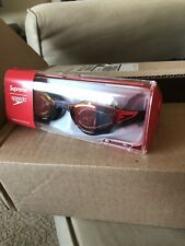 New listing Supreme Speedo Black Goggles And Swim Cap Red