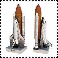 1:150 Scale US Space Shuttle Atlantis DIY Handcraft PAPER MODEL KIT