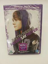 Justin Bieber - Never Say Never  (DVD, 2011)BRAND new sealed.