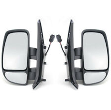 RENAULT MASTER 2003-2010 DOOWR WING MIRROR ELECTRIC 1 X PAIR NEAR & OFF SIDE