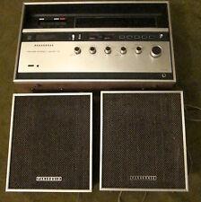 Vintage Panasonic FM/AM Stereo Cassette & 2 Speakers RS-280S