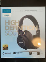 Anker Soundcore Vortex Wireless Over-Ear Headphones 20 Hr Playtime. Hi-Res audio