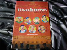 More details for madness official tour progamme / book