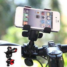 Universal Bike Bicycle Mobile Phone Mount Bracket Holder Stand Double Clip