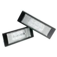 2 X LED Éclairage De Plaque Pour Mini Cooper R55 R60 R61 Xenon