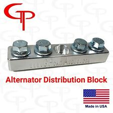 Gp Audio 4 Spot Alternator Distribution Block 1/0 2/0 lug Battery Terminal