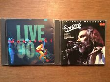 Georges Moustaki [2 CD Alben] Chansons + Georges Moustaki: Live '90 / METEQUE