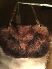 1960-70's Ladies Dyed Lamb Fur Purse Bag Mod Vintage Mr. D