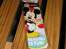 Mickey Mouse Bookmarks 16 pack. New. GREAT for Teachers OR Kids !!