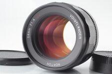 【Unused】 Voigtlander Nokton 58mm f/1.4 SL II N  Ai-S MF Lens from Japan #60-479