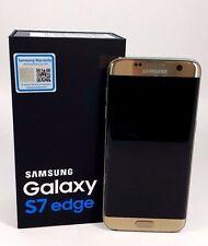 OPEN BOX- Samsung Galaxy S7 EDGE Duos SM-G935FD Gold (FACTORY UNLOCKED), 32GB