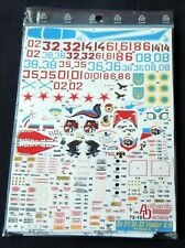 Decal SU-27/ SU-33 Flanker B/O Authentic Decals -  1:72