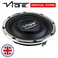 "VIBE Subwoofer BLACKAIR12S 12"" 750w MAX 250w RMS Space Saving Slimline Bass"