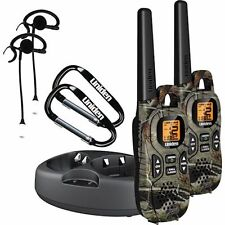 Uniden GMR3799-2 37-Mile GMRS/FRS Radio Walkie Talkie w/Charger+Headset Camo