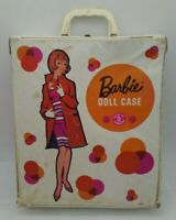 American Girl Barbie Doll Vinyl Carrying Case # 1002 Mattel Vintage 1960s Mattel