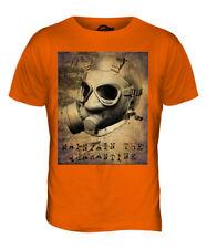 Mantener la Cuarentena Hombre Estampado Moderno Camiseta Calavera Radiactivo