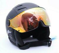 Alpina Skihelm Jump 2.0 QVM Snowboardhelm, Black matt, Größe 59-61 cm *TOP*
