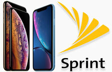 SPRINT IPHONE Xs / Xs Max CLEAN FACTORY UNLOCK SERVICE With Warranty 45 DAYS!