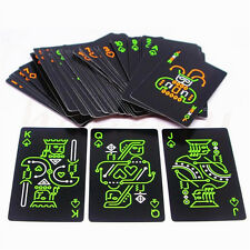 Glow In The Dark Playing Cards Creative Fluorescent Luminous Poker Card Fun Toys