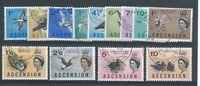 Ascension: 1963 Birds set to 10/- SG70-83 FU/CTO ML469
