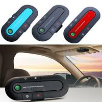 Bluetooth Wireless Speaker Phone Slim Magnetic Hands Free In Car Kit Visor E0Xc
