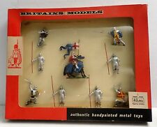 Britains Set # 9392 Knights of Agincourt w Box NM