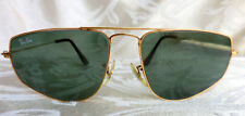 VINTAGE 58 [] 16mm B&L RAY BAN W1083 AVIATOR SUNGLASSES MADE IN USA OUTDOORMAN